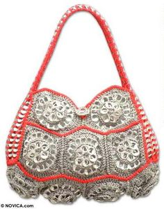 soda tab purse... - CROCHET