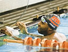 The color of American swimming is finally changing, with star Cullen Jones leading the way.