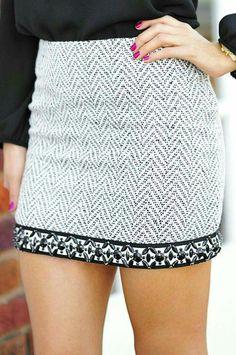 Idee voor winter  rok