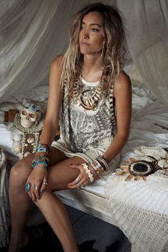 Boho, Bohemian, Hippie, Hippy, gypsy, hat, jewellery, Accessories, Aztec, Tribal, fashion, Style, Lace