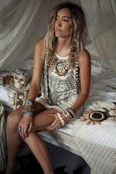 Boho, Bohemian, Hippie, Hippy, gypsy, hat, jewellery, Accessories, Aztec, Tribal, fashion, Style, Lace