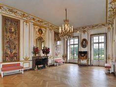 Salon 4 saisons. château de Breteuil. Yvelines. Ile-de-France
