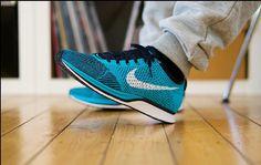 Nike Flyknit Racer Gamma Blue