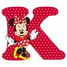 Mouse Alphabet V Mickey Font, Mickey Mouse Letters, Mickey E Minie, Minne, Minnie Mouse 1st Birthday, Minnie Mouse Party, Alfabeto Disney, Disney Alphabet, Alphabet Pictures