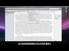 Scrivener Basics - Statistics - YouTube