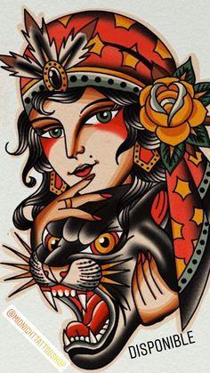 Traditional Tattoo Cuff, Traditional Tattoo Girls, Traditional Tattoo Sketches, Traditional Tattoo Old School, Old Tattoos, Celtic Tattoos, Tattoos For Guys, Clock Tattoos, Vintage Tattoos