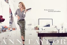 We love the classics, but break with tradition.   |   Kate Hudson for Ann Taylor Fall 2013 #chiclifestyle