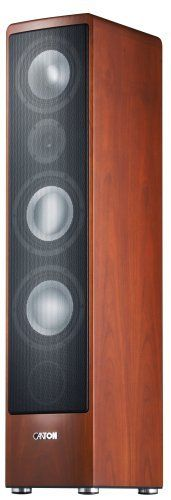 Canton Ergo 690 DC Speaker (Cherry, Each) by Canton. $1750.00. From the Manufacturer                 Based in the countryside of Taunus, near Frankfurt, Canton is one of Europe's leading loudspeaker manufacturers. For more than four decades Canton has been developing and producing high quality sound solutions for a variety of requirements, with one of the most wide-ranging product portfolios on the market.    Canton's Mission of Pure Music Canton's loudspeakers pursue the ide...