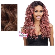 Equal (SNG) Premium Delux Wig Spring - Color TSTOFFEE - Synthetic (Curling Iron Safe) Regular Wig