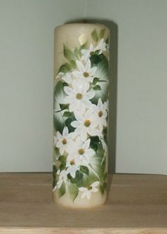 1000 images about hand painted candles on pinterest for Candle painting medium