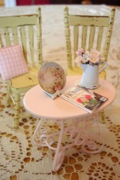 shabby chic charm in miniature