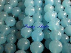 Sea Blue Chalcedony 10mm