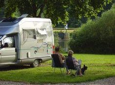 Pitch for motorhomes on the Moselle - Motorhome Caravan, Motorhome Conversions, Motorhome Interior, Rv Sites, Rv Parks, Vw Bus, Recreational Vehicles, Komfort, Europe