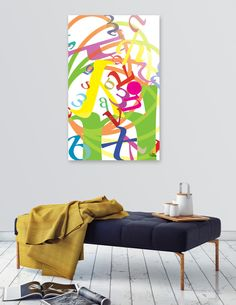 """""""Joy"""" by George Barakoukakis. Archival quality print mounted on the back of a 1/4"""" thick, clear acrylic substrate. Polished edges. Includes wall hanging hardware. Manually…"""