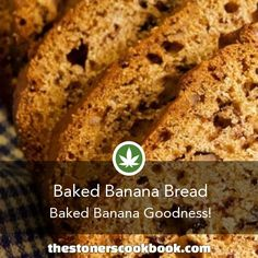 Baked Banana Bread from the The Stoner's Cookbook (http://www.thestonerscookbook.com/recipe/baked-banana-bread)