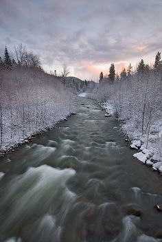 Winter in Mt. Hood Area, Oregon.I want to visit here one day.Please check out my website thanks. www.photopix.co.nz