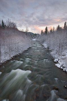 Winter in Mt. Hood Area, Oregon