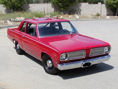 ALMOST bought one of these , back in the day, it was niot to be, because insurance for a year was almost the same price as the car  1968 Plymouth Valiant 100 360 CID,big engine, small car