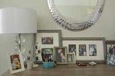 gina rachelle design. layering frames.