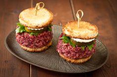 Beet and brown rice sliders   Vegan   Gluten-free