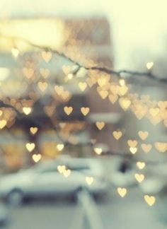 #lights, sparkling, gold, winter, harmony, #dreaming, little hearts - Lichter, funkelnd, gold, Winter, Harmonie, träumen, kleine Herzen