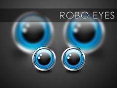 robot eyes - Google Search