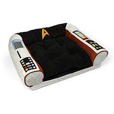 Star Trek Captain's Chair Pet Bed