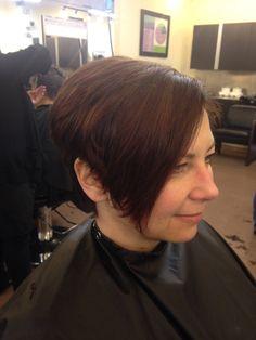Short angles haircut