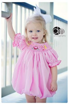 Smocked Princess Bubble from Smocked Auctions