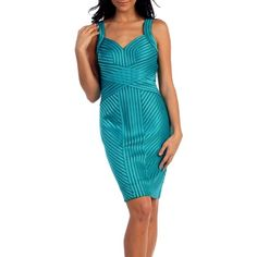 Turquoise Ribbon Sweetheart Cocktail Dress. Exclusive to royaltag.com.au. SHOP it now