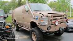 11 Ford E350 Quiggley Van   Krazy House Customs