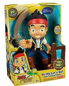jake and the neverland pirates talking figure only $9.00! (Normally $22) Baylen