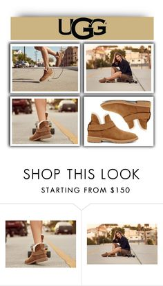 """""""The New Classics With UGG: Contest Entry"""" by fashiondiaryy ❤ liked on Polyvore featuring UGG and ugg"""