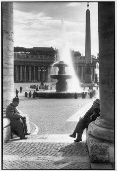 Henri Cartier-Bresson      ITALY. Rome. 1959.