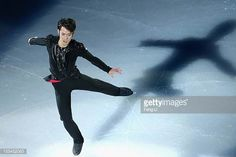 Men silver medalist Daisuke Takahashi of Japan performs during Cup of China ISU Grand Prix of Figure Skating 2012 at the Oriental Sports Center on...