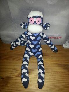 Love making sock monkeys