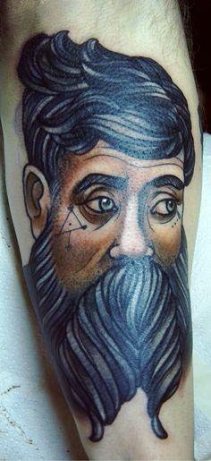Tattoo by Anna Enola at Nimmermehr Taetowierungen.