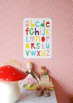 A3 size Poster Alphabet by Ninainvorm on Etsy