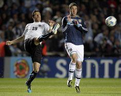 Uruguay v Argentina Copa America 2011