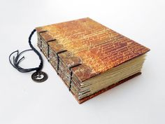 Small Handmade Coptic Bound Journal Notebook by missArAyA on Etsy, $18.00