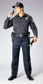 Security Guard Uniform....I remember Emmanuel telling me about shaunique and his job in security and how security was racist, I approached shauquie outside a bar....and it was like he was following security protocol to a tee...it was like watching the security training video over again....