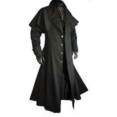 """steampunk long coat 