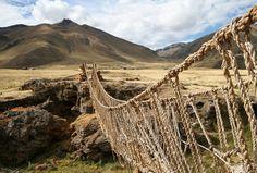 Rope bridge, Peru