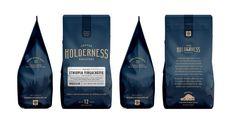 Holderness Coffee Roasters - Factory North #coffee #bag #branding #packaging