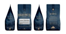 Holderness Coffee Roasters - Factory North #coffee #bag #branding #packaging