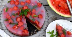 Melónová torta s medovkou . Cantaloupe, Ale, Fruit, Food, Recipes, Basket, Meal, Ale Beer, Essen