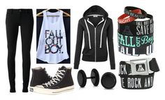 """Fall Out Boy"" by doodlebob3 ❤ liked on Polyvore featuring Gucci, Converse and Bling Jewelry"