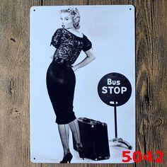 Marilyn Monroe Vintage Home Decor Tin Sign Cinima Musical Bar Wall Decor Metal Sign Vintage Art Poster Retro Plaque\Plate
