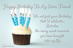 Home -> Birthday Postcards -> Happy Birthday To My Dear Friend