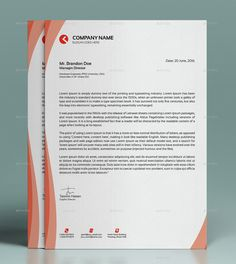 Buy Corporate Business Letterhead by lotus-eater on GraphicRiver. FEATURES: Easy Customizable and Editable Business Flyer in with bleed CMYK Color Design in 300 DPI Resol. Letterhead Business, Corporate Business, Corporate Design, Business Card Design, Business Cards, Stationery Business, Creative Business, Online Business, Letterhead Design Inspiration